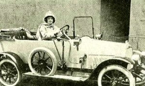 Alma pl. Balley first women with the driving license in Zagreb