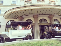 Old Zagreb sightseeing at Esplanade Luxury Hotel